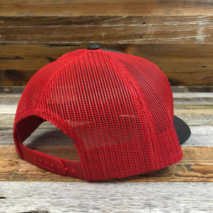 Original King Ropes Trucker Hat - Charcoal/Red
