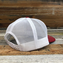Load image into Gallery viewer, Original King Ropes Trucker Hat - Red/White