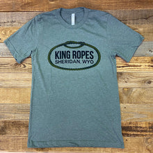 Load image into Gallery viewer, Men's King Ropes Tee - Heather Military Green