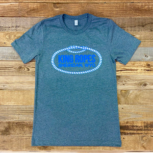 Men's King Ropes Tee - Deep Heather