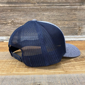 KING ROPER Trucker Hat - Heather Navy