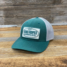 Load image into Gallery viewer, King Ropes Patch Trucker Hat - Dark Heather Green