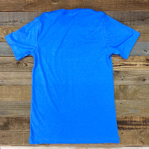 Men's King Ropes Tee - Columbia Blue