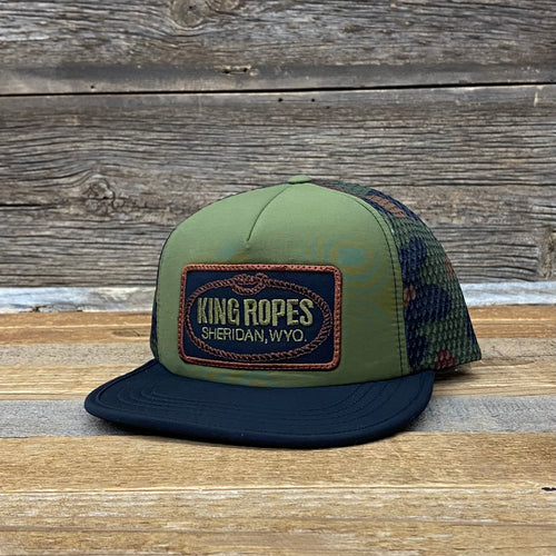 King Ropes Patch Flexi Trucker Hat