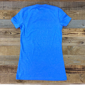 Women's King Ropes Tee - Columbia Blue