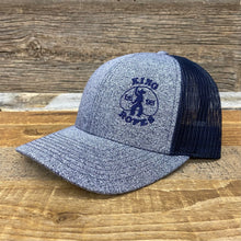 Load image into Gallery viewer, KING ROPER Trucker Hat - Heather Navy