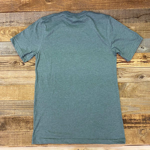 Men's King Ropes Tee - Heather Military Green