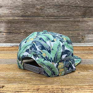Banana Floral Patch Hat
