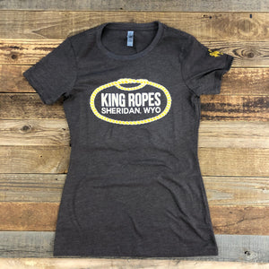 Women's King Ropes Tee - Brown