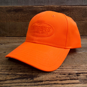 Original King Ropes 6 Panel Hat - Blaze Orange