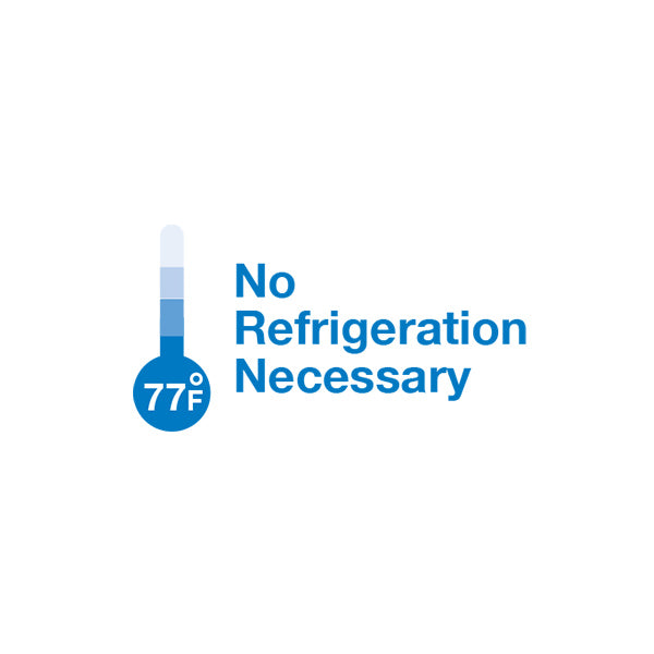 Logo for No refrigeration necessary