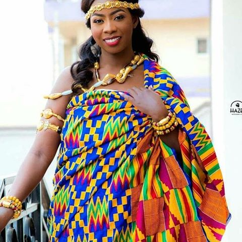 Meaning behind our chosen luxury Kente fabric