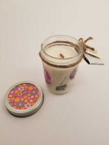 Custom Mason Jar Candle 7oz