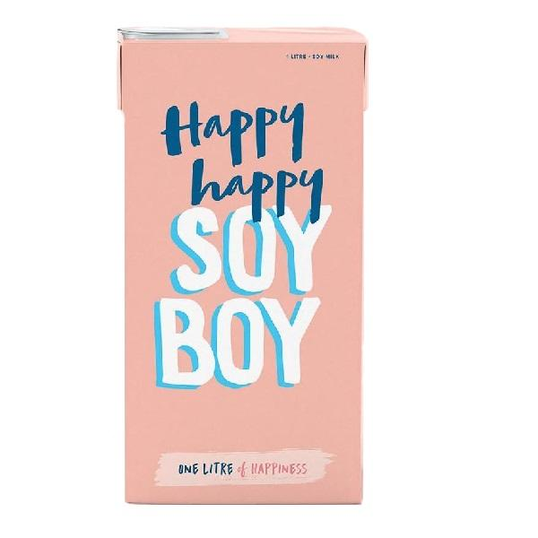 Happy Happy Soy Boy 1L ***Local Delivery Only***