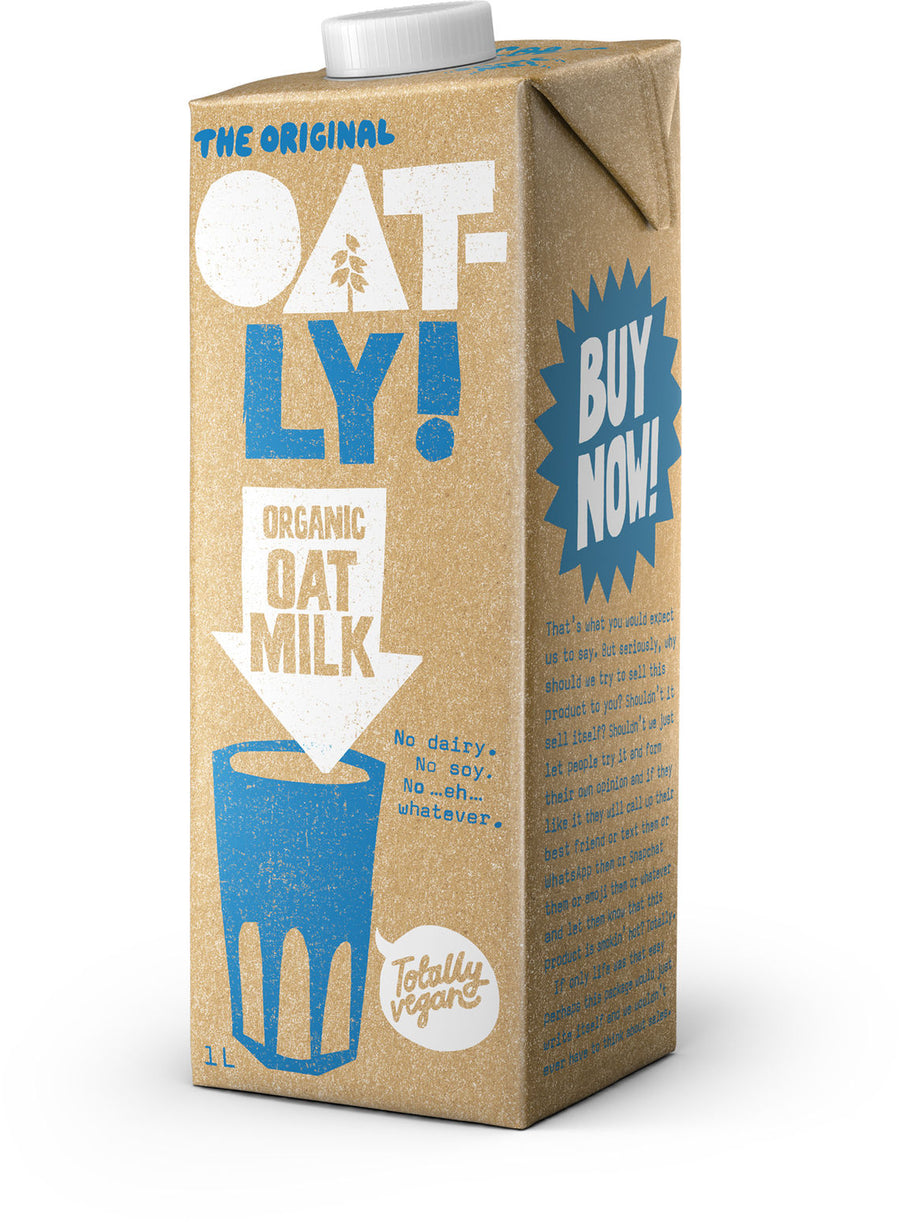 Oatly Organic Oat Milk 1L ***Local Delivery Only***