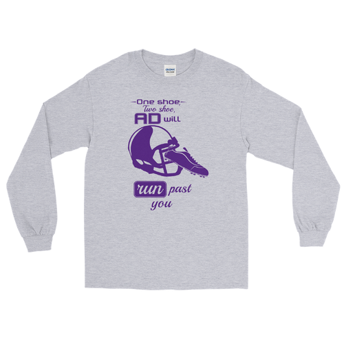 Purple Helmet Long Sleeve