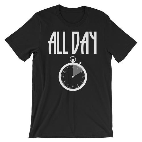 All Day Clock White T-Shirt