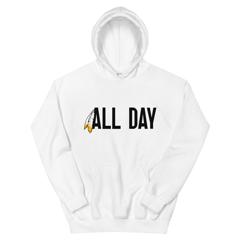 All Day Black Hoodie