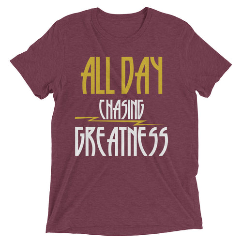 Chasing Greatness White T-Shirt