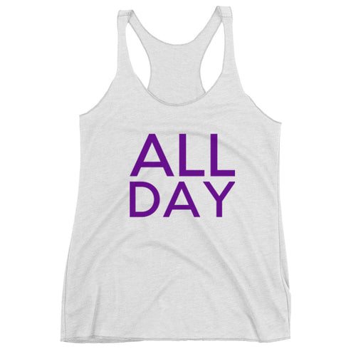 All Day Purple Tank