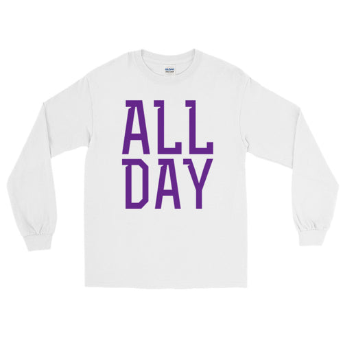 Purple All Day Long Sleeve