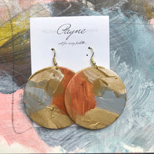 "Hand Painted Earrings ""Glamour"""