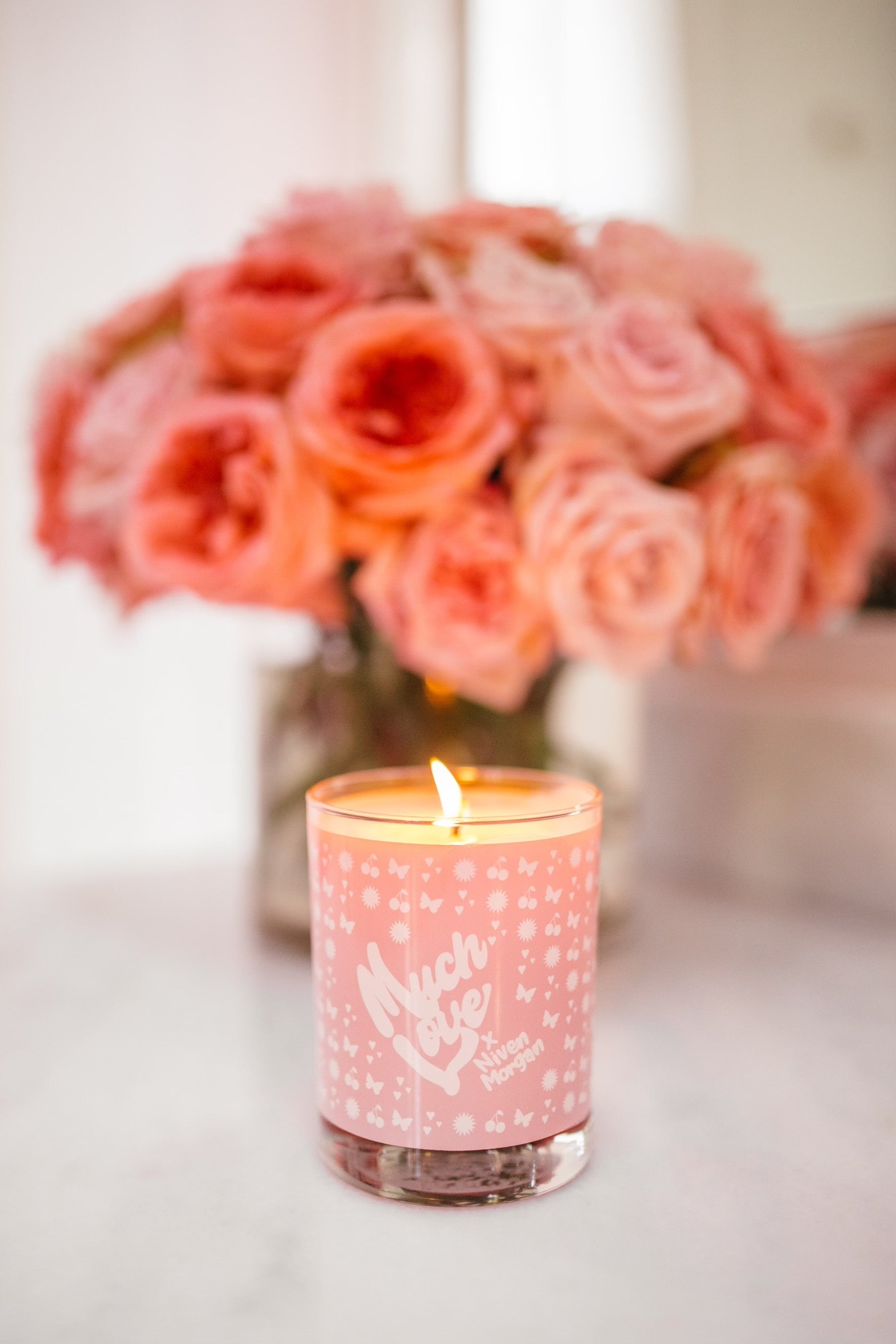 Sophie's Rose Candle