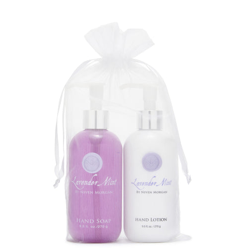 Lavender Mint Hand Lotion & Hand Soap Gift Set