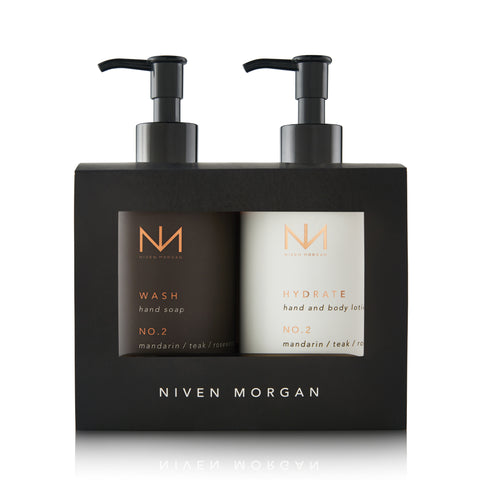 No. 3 Hand Lotion & Hand Soap Gift Set Geranium/ Patchouli/ Pepper