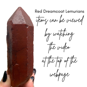 Copy of Copy of Red Dreamcoat Lemurian RD130