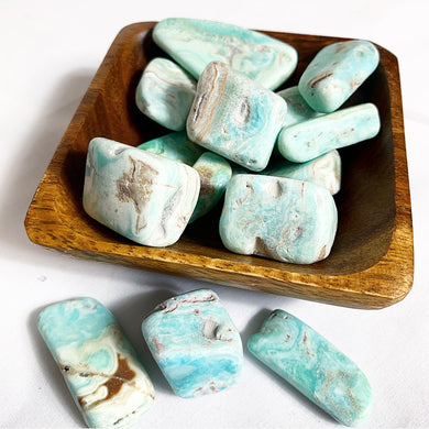 Caribbean Blue Calcite and Aragonite (UV Reactive)