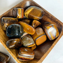 Load image into Gallery viewer, Tigers Eye Tumbles XL
