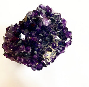 """Grape Jelly"" Amethyst Stalactite"