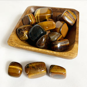 Tigers Eye Tumbles XL