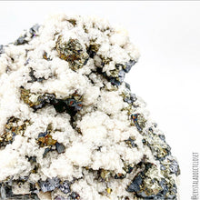 Load image into Gallery viewer, Amazing Rare Large Specimen, Calcite on Chalcopyrite on Galena