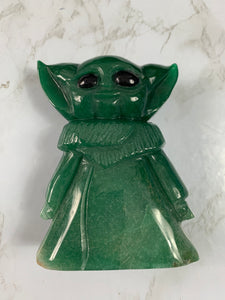 Hand Carved Baby Yoda