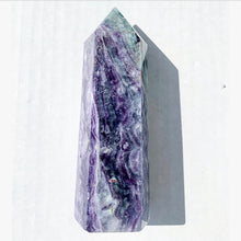 "Load image into Gallery viewer, 5.57"" Rainbow Fluorite Tower"