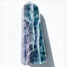 "Load image into Gallery viewer, 5.7"" Rainbow Fluorite Tower"