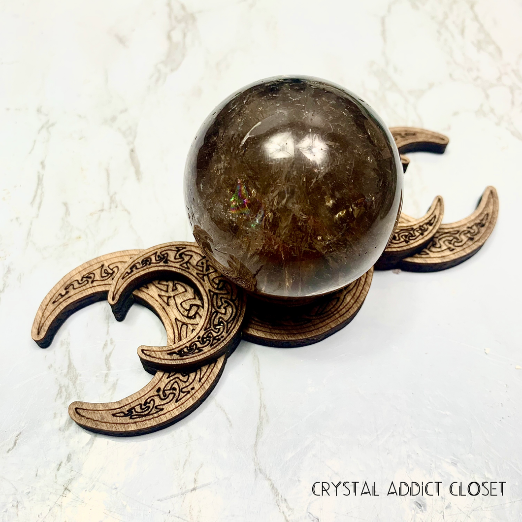 Triple Moon Sphere Holder