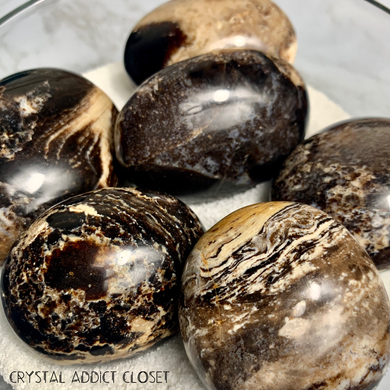 Brown Opal Palm Stones