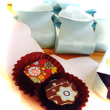 Masala Chocolates baby shower favors