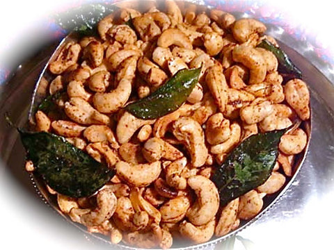 Curried Cashew Nuts