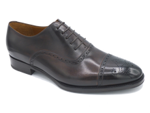 Load image into Gallery viewer, Salvatore Cap Toe Oxford - Marrone - Vikk & Co.