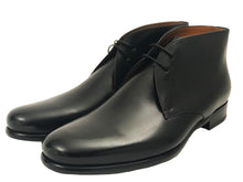 Load image into Gallery viewer, Nicolo Chukka Boot - Nero - Vikk & Co.