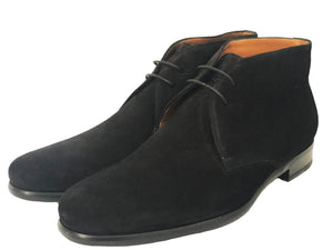 Nicolo Chukka Boot - Nero Suede - Vikk & Co.