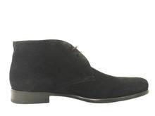 Load image into Gallery viewer, Nicolo Chukka Boot - Nero Suede - Vikk & Co.