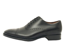 Load image into Gallery viewer, Salvatore Cap Toe Oxford - Nero - Vikk & Co.