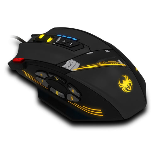 Gaming mouse C-12 Programmable Buttons LED Optical 4000 DPI