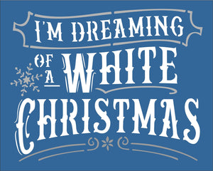 I'm Dreaming Of A White Christmas & Maybe A New Front Door For My House?