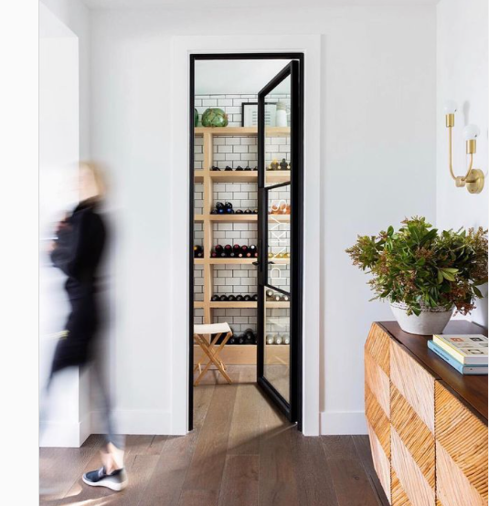 2 Wine Cellar Doors That Are Perfect for Modern Homes